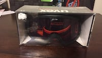 black and red Uvex snow goggles with box Calgary, T2Z