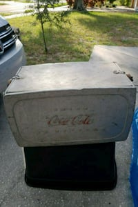 Vintage Coke Chest..original not reproduction Tarpon Springs