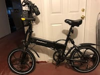 Black and gray folding bike New York, 11377