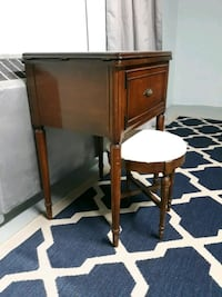 table with stool