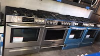 """New Slide In 30"""" Frigidaire stainless steel gas stove 6 months warranty"""