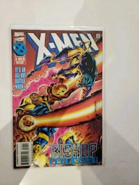 X Men comic # 49 (Feb 1996, Marvel) bishop goes wi Indio, 92201