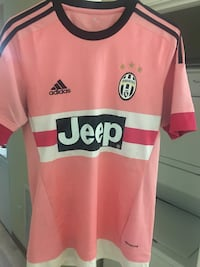 Adidas jeep soccer jersey pink