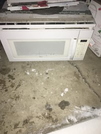 Fridge oven microwave