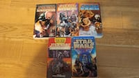 Lot of Star Wars novels Dorval