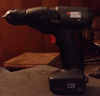Black And Decker 7.2 Volt Battery Drill