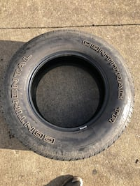 275 70 r18 tires. 50% tread. F150 f250 Silverado sizes Stephens City, 22655