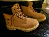 Mens steel toe work boots brand new size 10.5 Bow, 03304