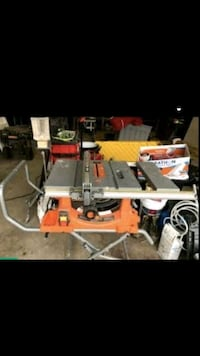 Rigid table saw with stand and wheels  Annapolis, 21401