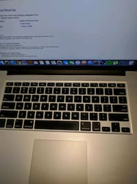 "Mac book pro retina 15"" good condition 2.4 GHz Intel core 7, memory 8g Kitchener"