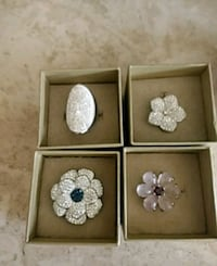 Just gorgeous Sterling Silver rings Carol Stream, 60188