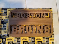 Bruins wood sign Reading