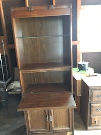 Wooden Book Case (used) WICHITA