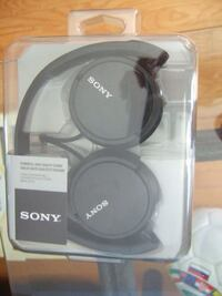 new powerful high quality sound headphone from sony,3663 Mississauga
