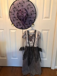 4-6 years witch dress with hat  Sterling, 20164