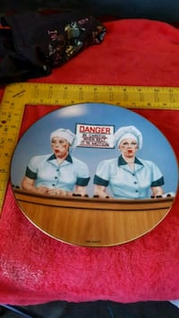 I love Lucy collectable plate Thousand Oaks, 91360