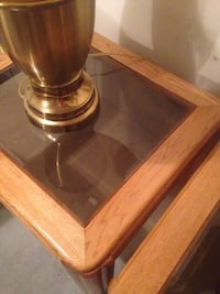 Brass table lamp base