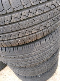 Set of used 245/60R18 Michelin tires
