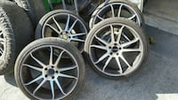 20in staggered Mercedes Wheels Boca Raton, 33434