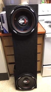 Black and gray subwoofer speaker Reno, 89503