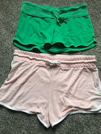 women's green and white shorts Bellbrook, 45305