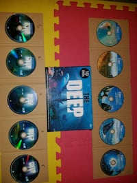 Mysteries of the Deep and discovery planet. 10DVD's