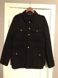 Men's Polo wool coat in good condition size Large missing one button   Washington, 20002