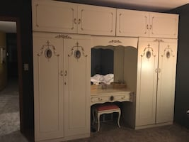 Wardrobe Unit & Armoire Set