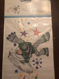 ** New in Package Disney wall stencils Buzz Lightyear & Mickey Mouse. , N0J 1E0