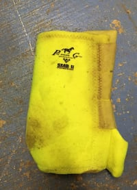 Lime Green Equine SMB Boots