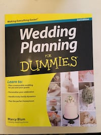 Wedding Planning for Dummies  Oshawa, L1G 5N5