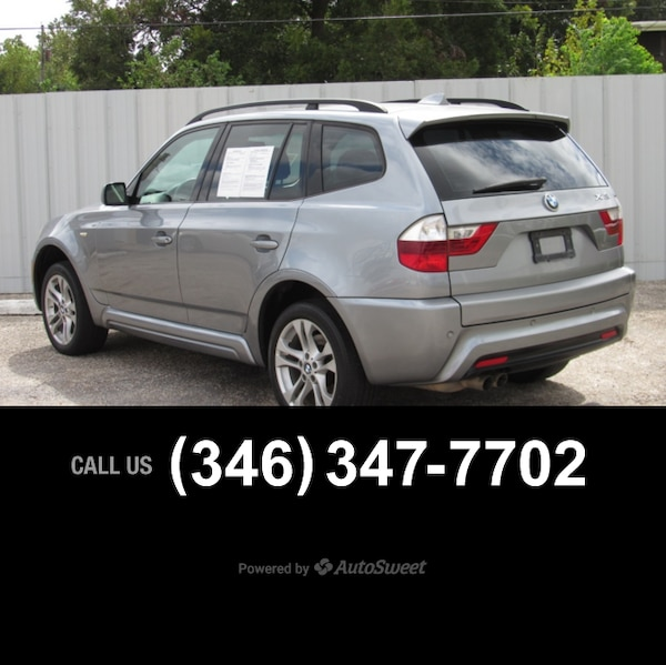 Used 2008 BMW X3 3.0si 3.0si For Sale In Houston