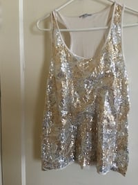 Sliver and Gold sequins tank top Salisbury, 21804