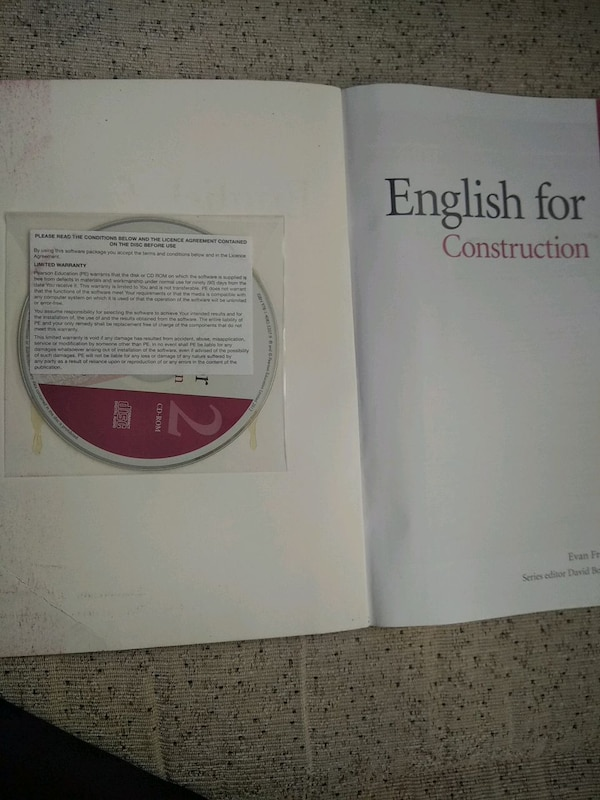 English for construction book 1
