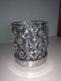 Silver and crystal candle holder Hamilton, L8J 2R3