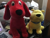 Clifford The Big Red Dog And T-bone By Kohls Cares Waterbury, 06705