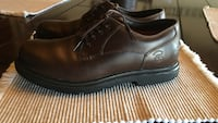 Brown timberland leather dress shoes Oklahoma City, 73099