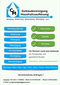 House cleaning Mannheim, 68309