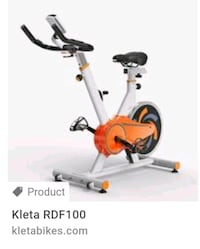 White and Orange Kleta RDF100 Flywheel Germantown, 20874