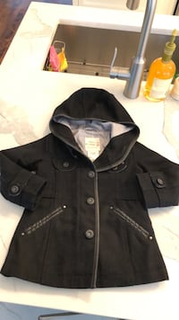 DIESeL jacket spring/fall black size 2Y girls Laval, H7W 3R7