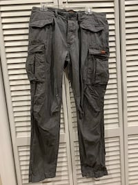 Superdry cargo pants 34/32 gray Chicago, 60641