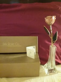 Gold dipped rose. Great for Easter  Red Lion, 17356
