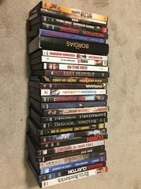 DVD Collection for only 20.00