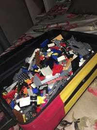 Suitcase full of legos!!