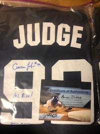 Aaron Judge Signed yankees Jersey shirt Springfield, 01108