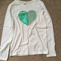 Girls Sequin Shirt