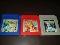 Pokemon Nintendo Gameboy color games for sale Brampton, L6S 1J9