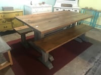 6ft Farmhouse Table Set  534 km