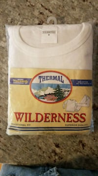 Wilderness Thermal Underwear-NEW in sealed packaging Silver Spring, 20901