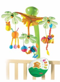Baby musical instrument for crib